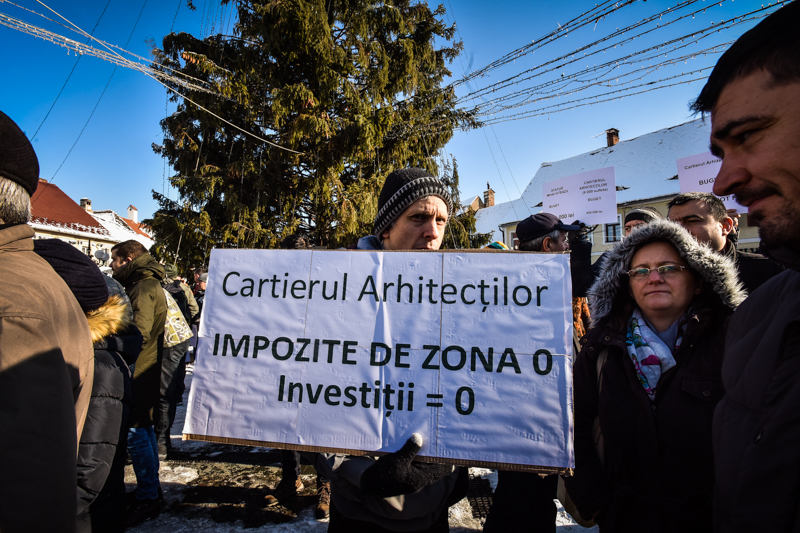 protest Cisnadie cartierul arhitectilor (17)