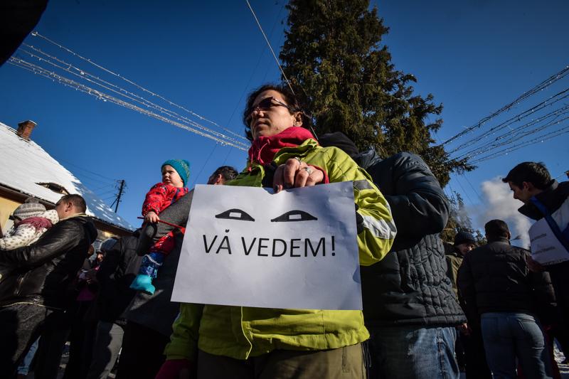protest Cisnadie cartierul arhitectilor (21)