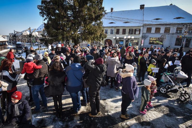 protest Cisnadie cartierul arhitectilor (7)
