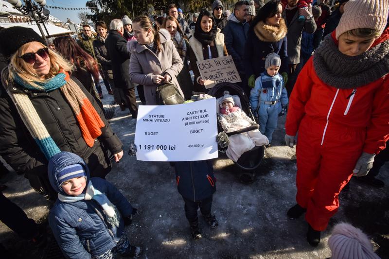 protest Cisnadie cartierul arhitectilor (8)