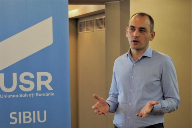 Adrian Echert, președinte USR Sibiu