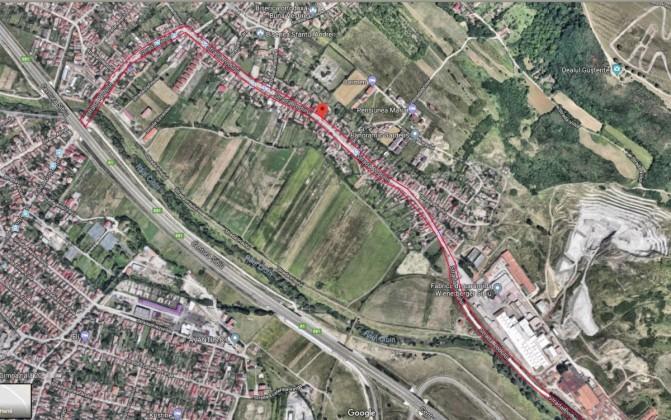 Strada Podului - Google Satelit