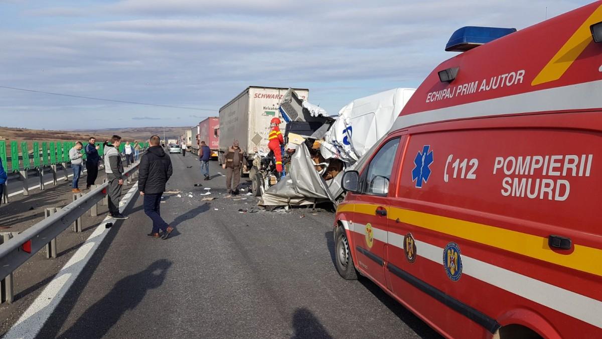 accident incarcerat autostrada