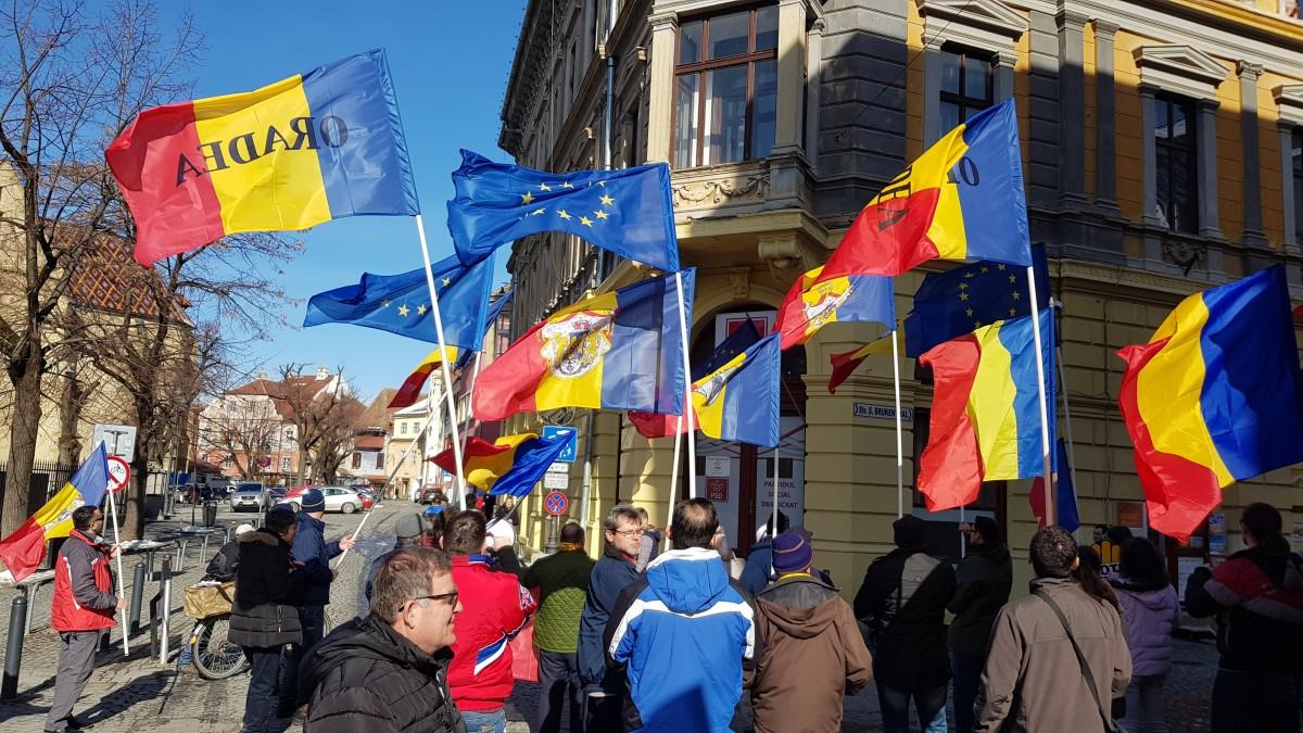 oradea protest 1