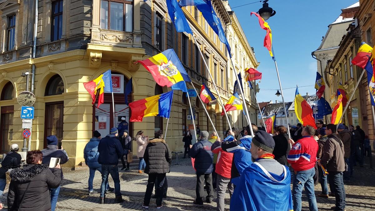 oradea protest 2
