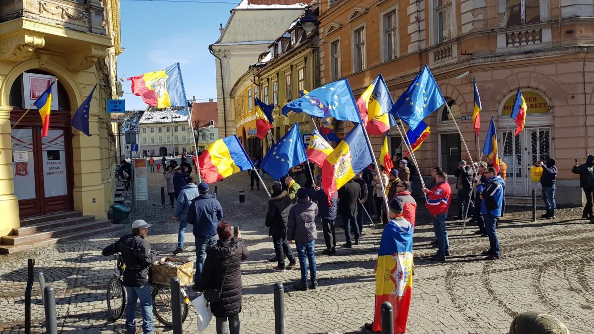 oradea protest 3