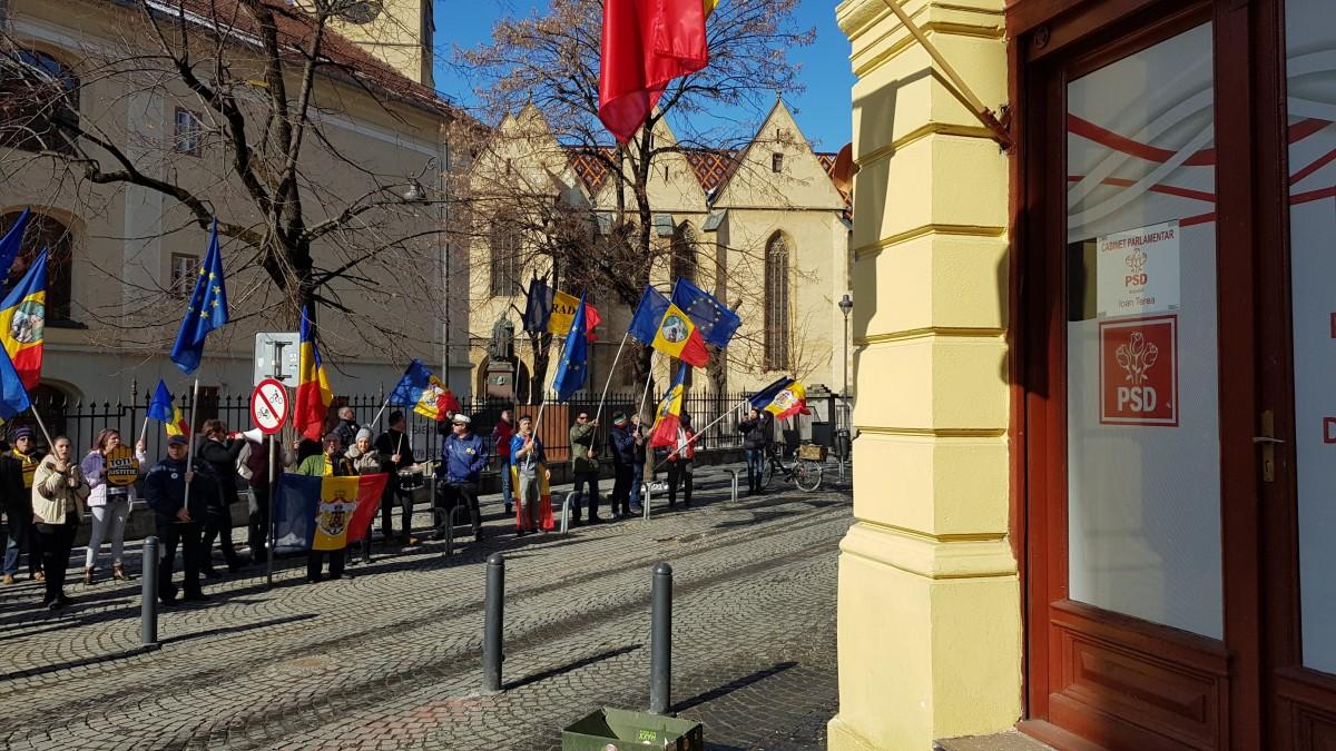 oradea protest 4