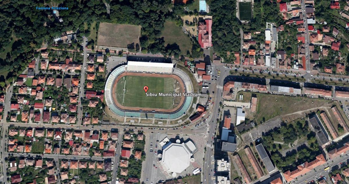 sibiu stadion municipal