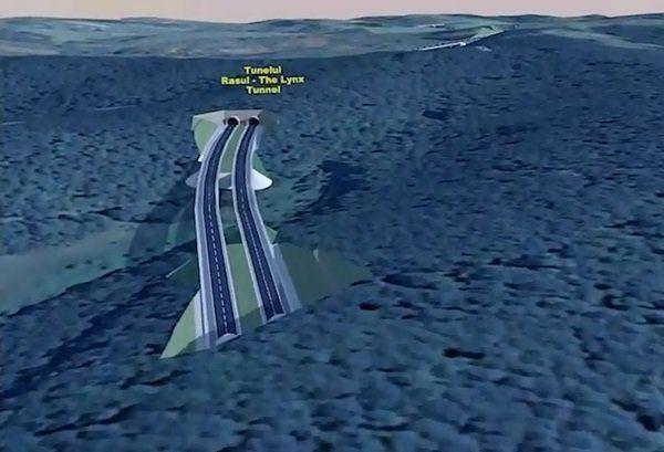 Cele două tuneluri după care vom aștepta până prin 2023 Sursa foto: tion.ro