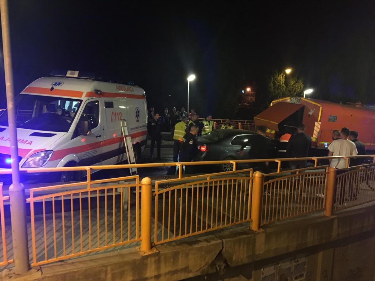 accident podul garii