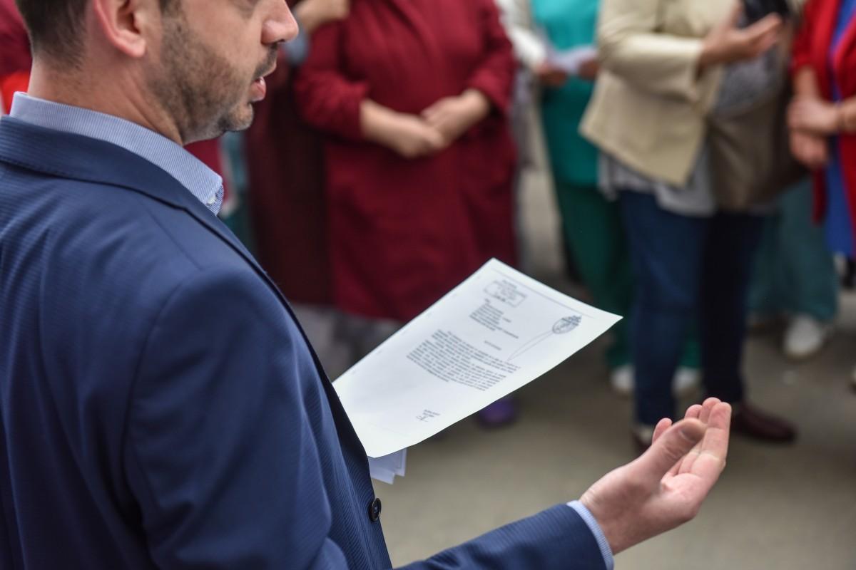 Sebastian Stroia protest spital psihiatrie (2)