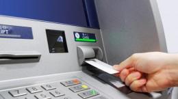 ATM insert card