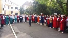 protest spital Spitalul de Pneumoftiziologie