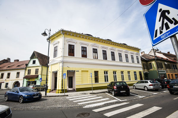 Clădirea renovată, mai 2018 FOTO Silvana Armat