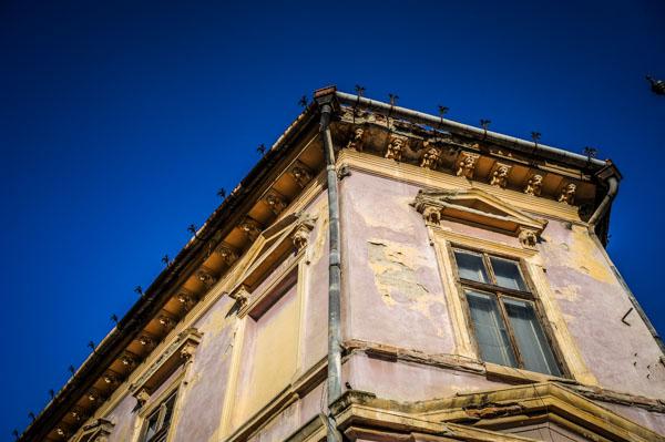 Clădirea până la renovare FOTO Silvana Armat
