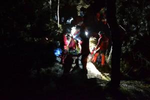 Familie din Sibiu, blocată în munți. Salvamont a intervenit până târziu în noapte