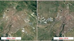 sibiu 2007 vs 2018