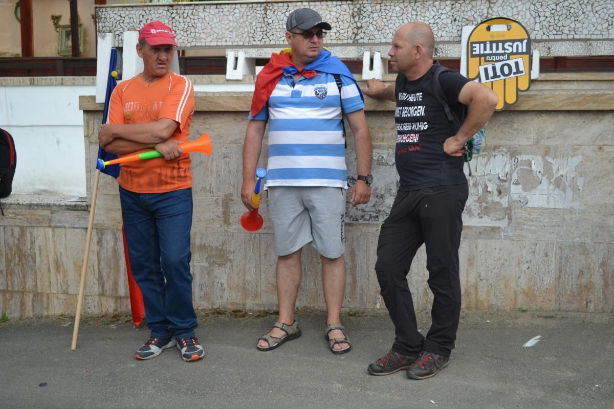 protestatari in sibiu