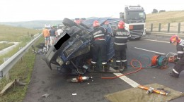 accident autostrada apoldu 1