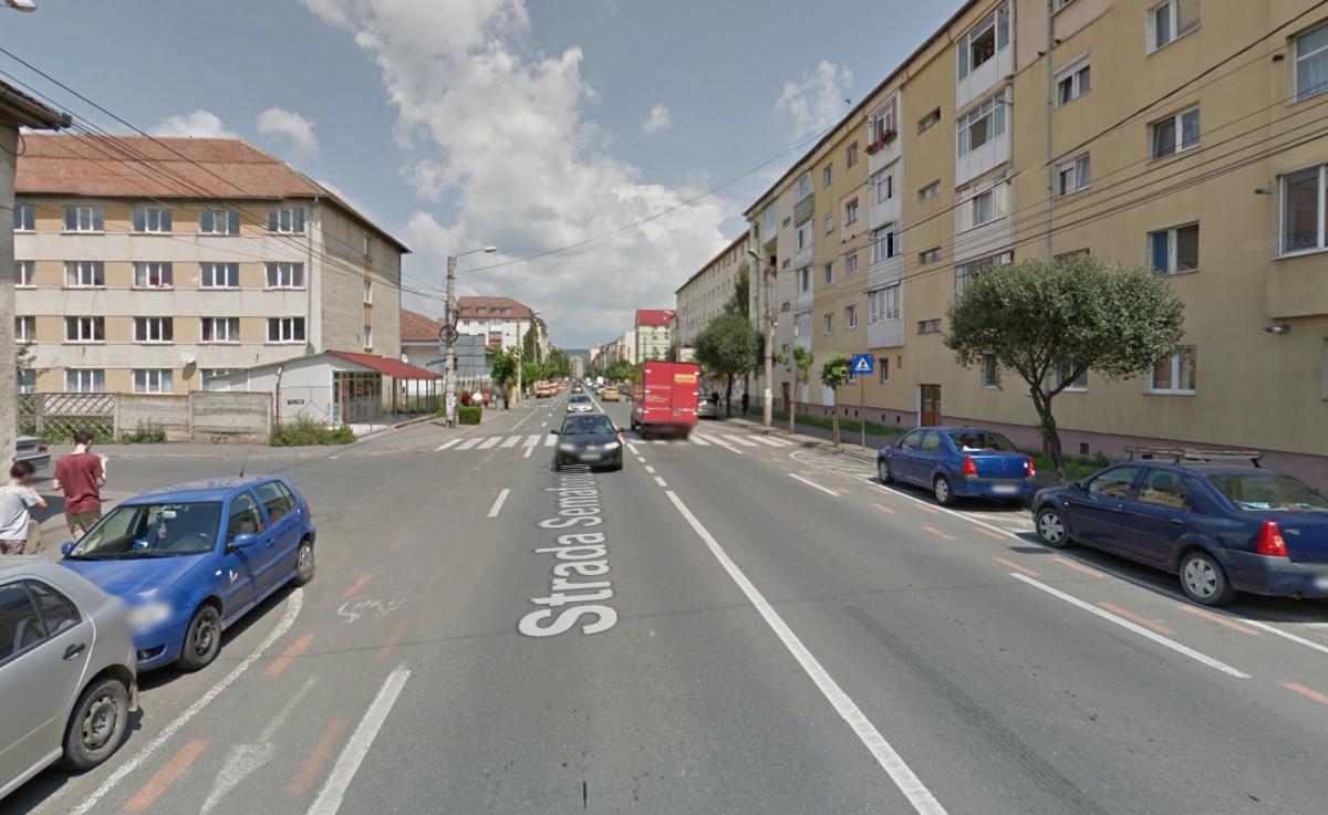 Trecerea de pietoni de pe Semaforului. Sursa foto: Google Street View