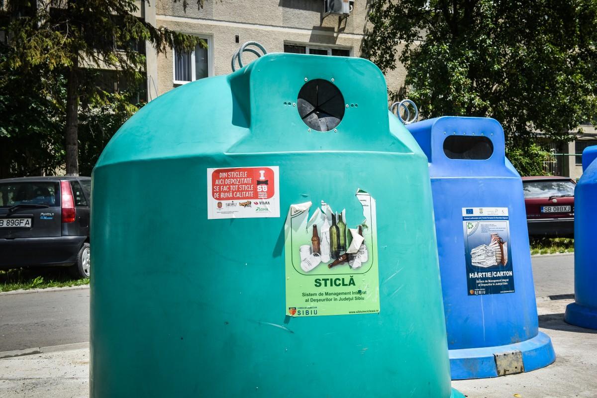 Cei care nu respectă regulile vor trebui să plătească dublul prețului normal pentru ridicarea deșeurilor reziduale
