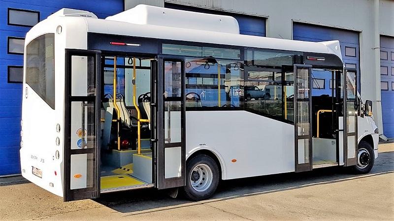 Autobuze cu motoare alimentate cu CNG, la Râmnicu Vâlcea