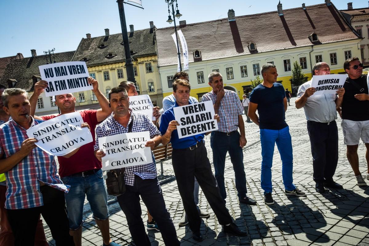 protest soferi autobuze Tursib (3)
