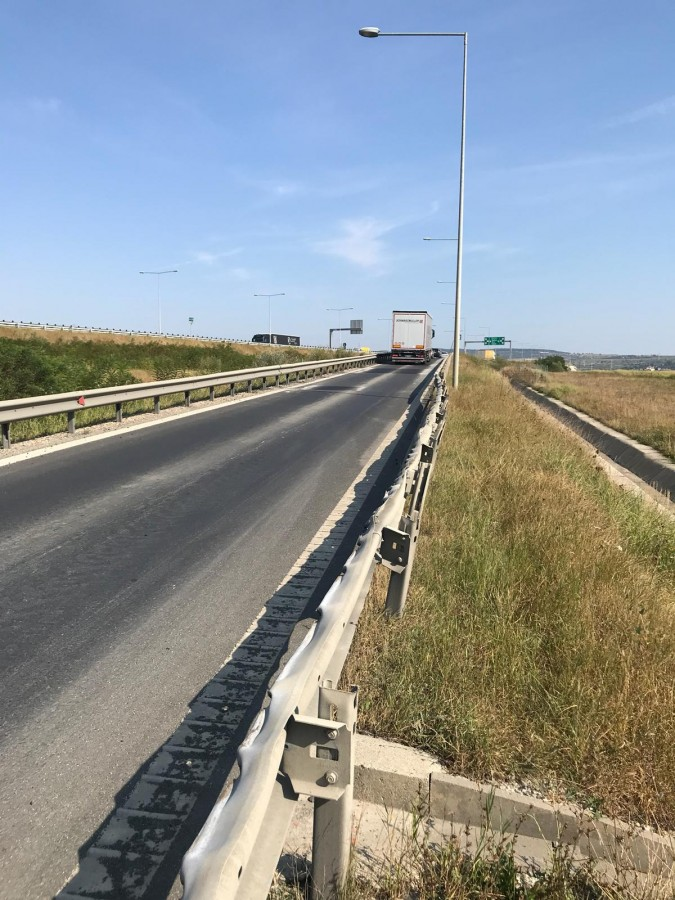 astfaltare Autostrada A1 (1)