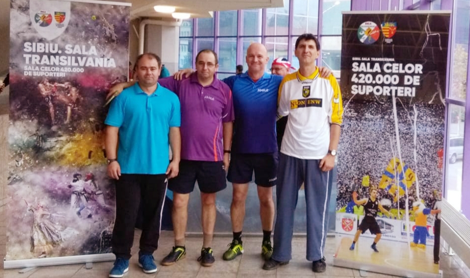 Cei mai buni jucători de tenis de masă s-au decis în Sala Transilvania! (CP)