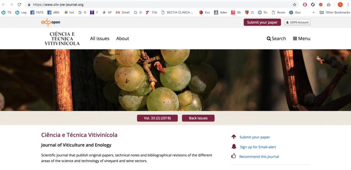adevarata revista de viticultura