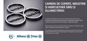 Asigurări Allianz-Țiriac cu până la 20% mai ieftine pentru companiile din judeţul Sibiu (CP)
