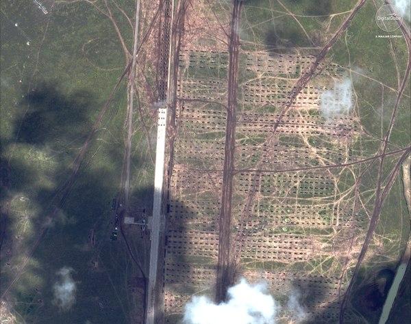 Vostok 2018, văzut din satelit Sursa foto: Defense News