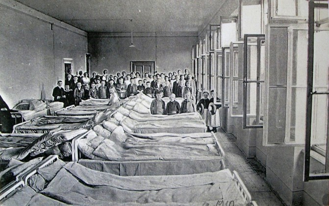 Spitalul TBC, 1910