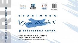 Poster Stagiunea ICon Arts Biblioteca ASTRA_19NOV18