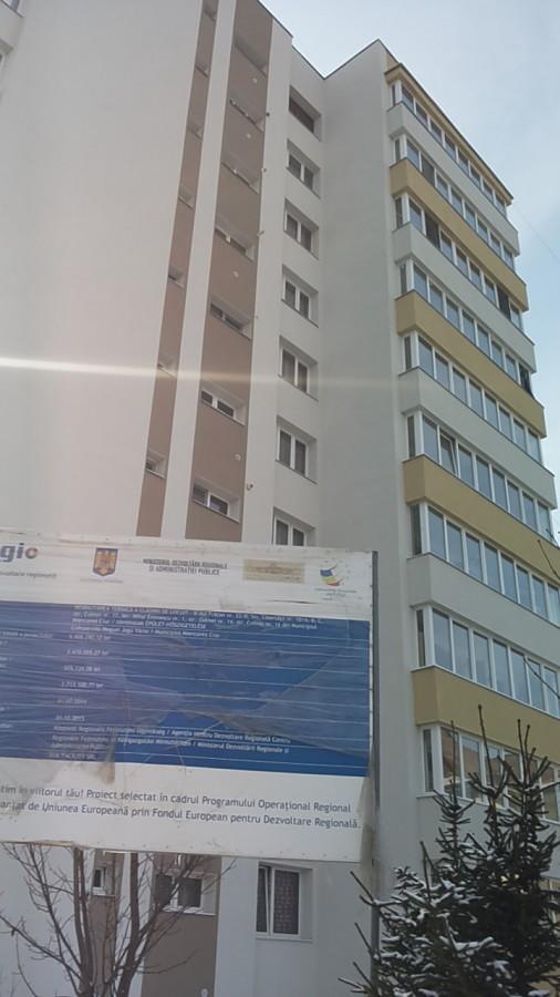 Bloc din Miercurea Ciuc, reabilitat termic din fonduri europene. Sursa: ADR Centru