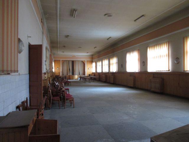 Interiorul cantinei de pe bulevardul Corneliu Coposu. FOTO Electric Serv