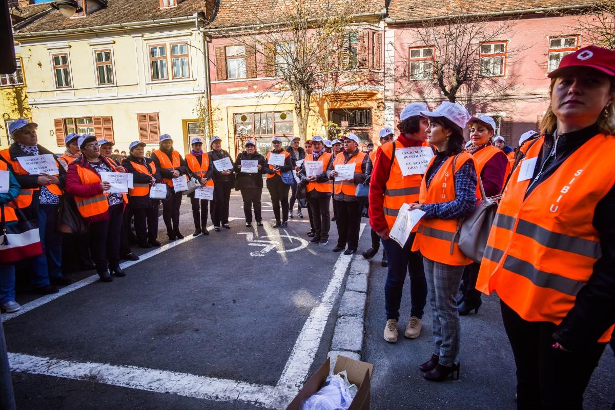 protest sanitas Cj sporuri protectie sociala (1)