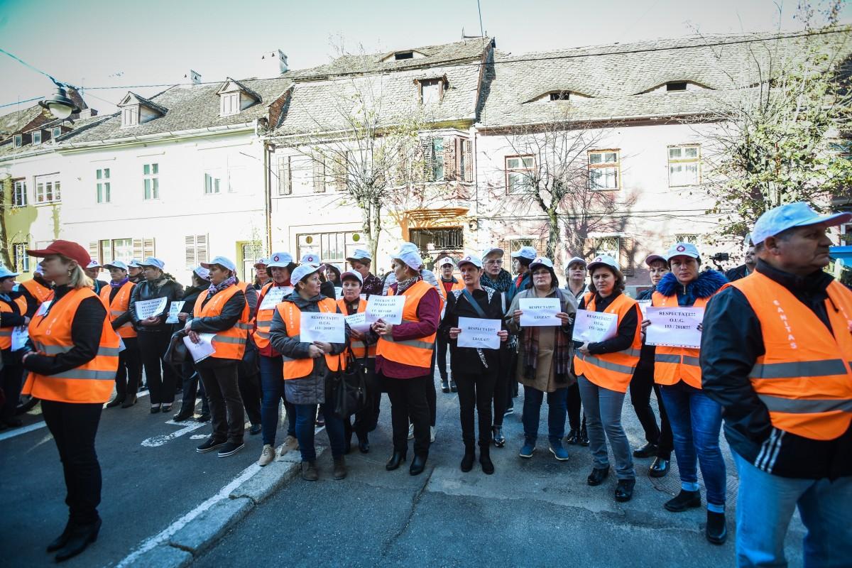 protest sanitas Cj sporuri protectie sociala (13)