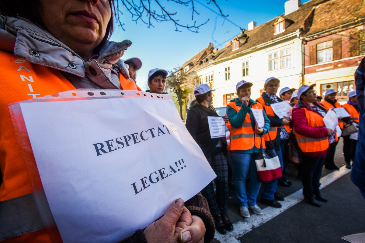 protest sanitas Cj sporuri protectie sociala (3)