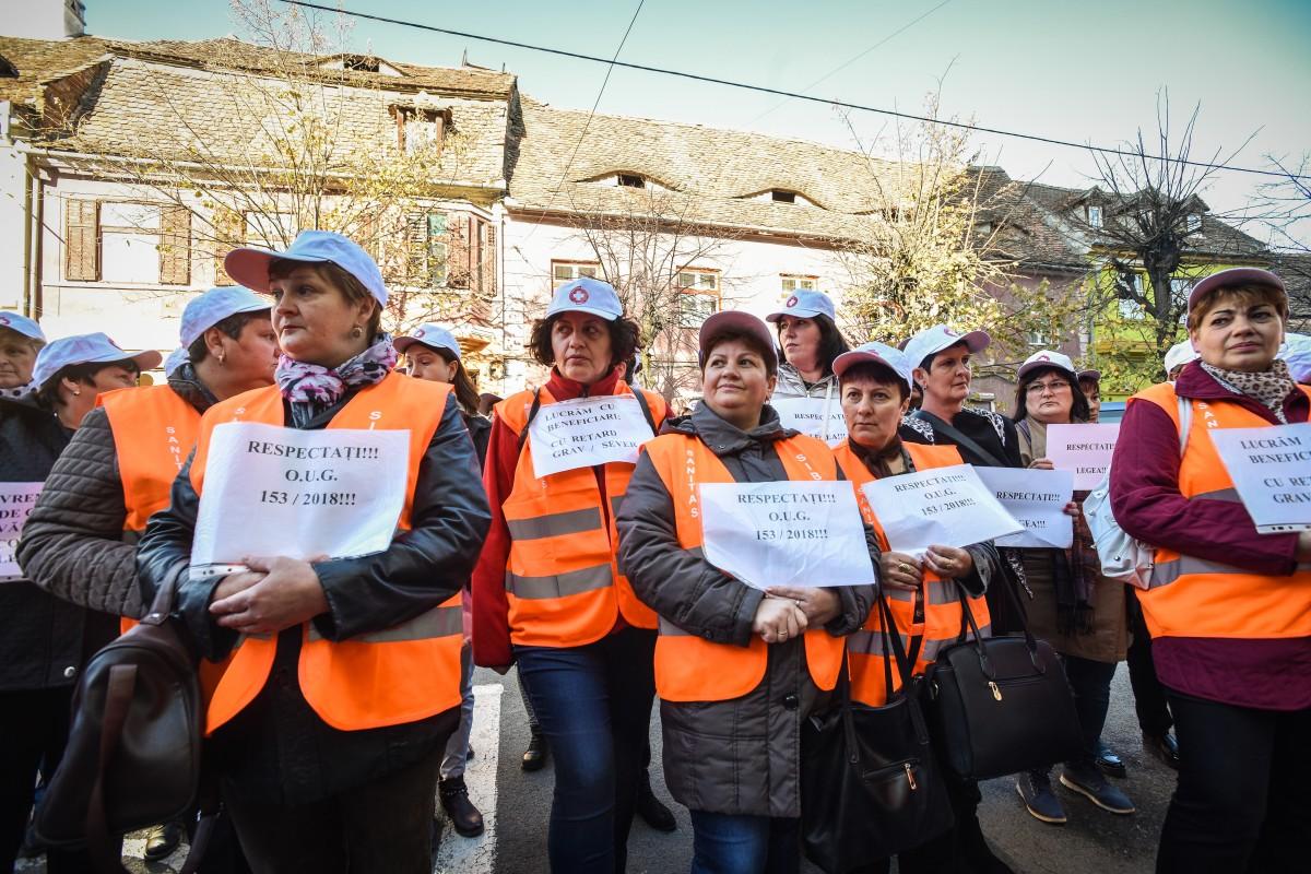 protest sanitas Cj sporuri protectie sociala (8)