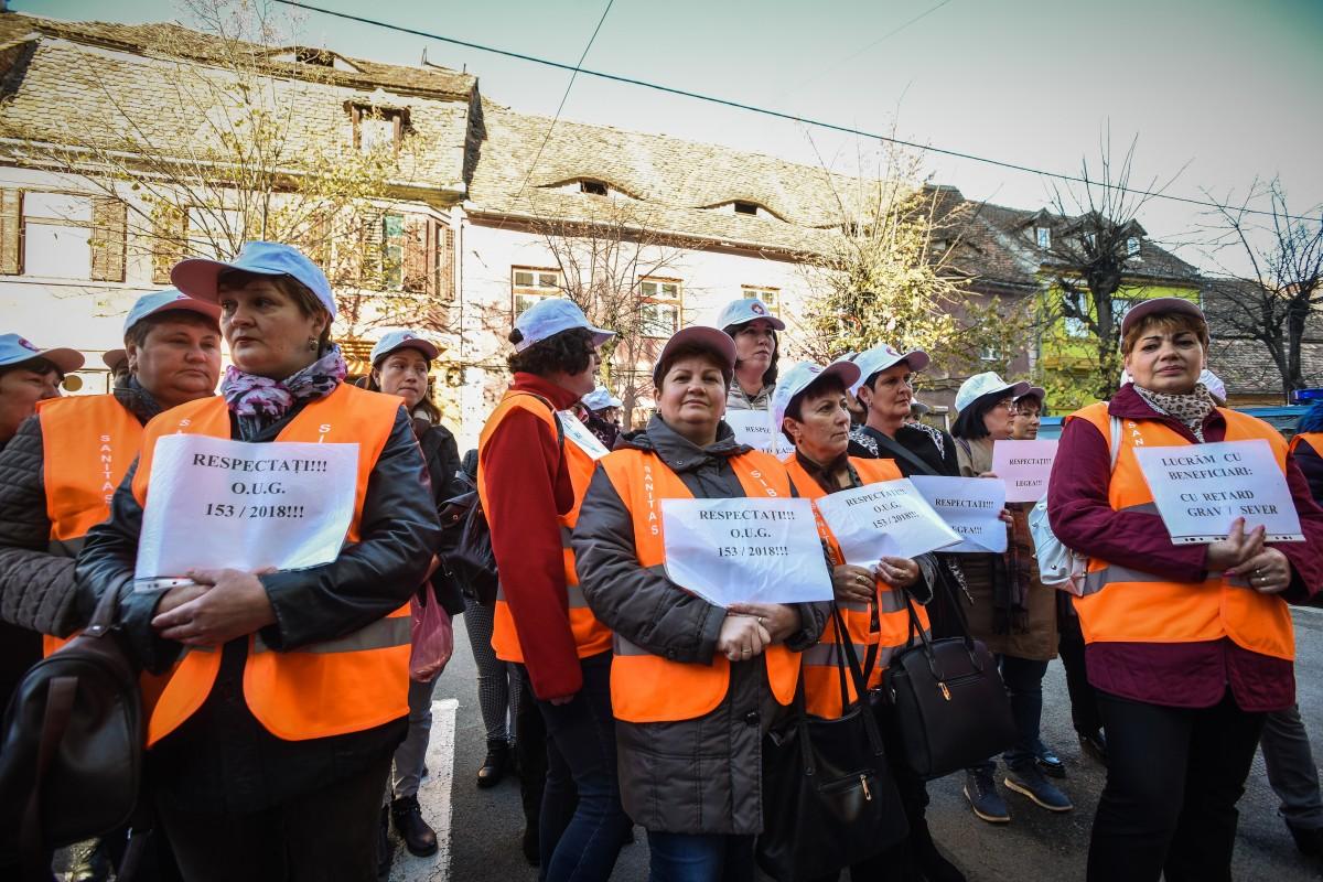 protest sanitas Cj sporuri protectie sociala (9)