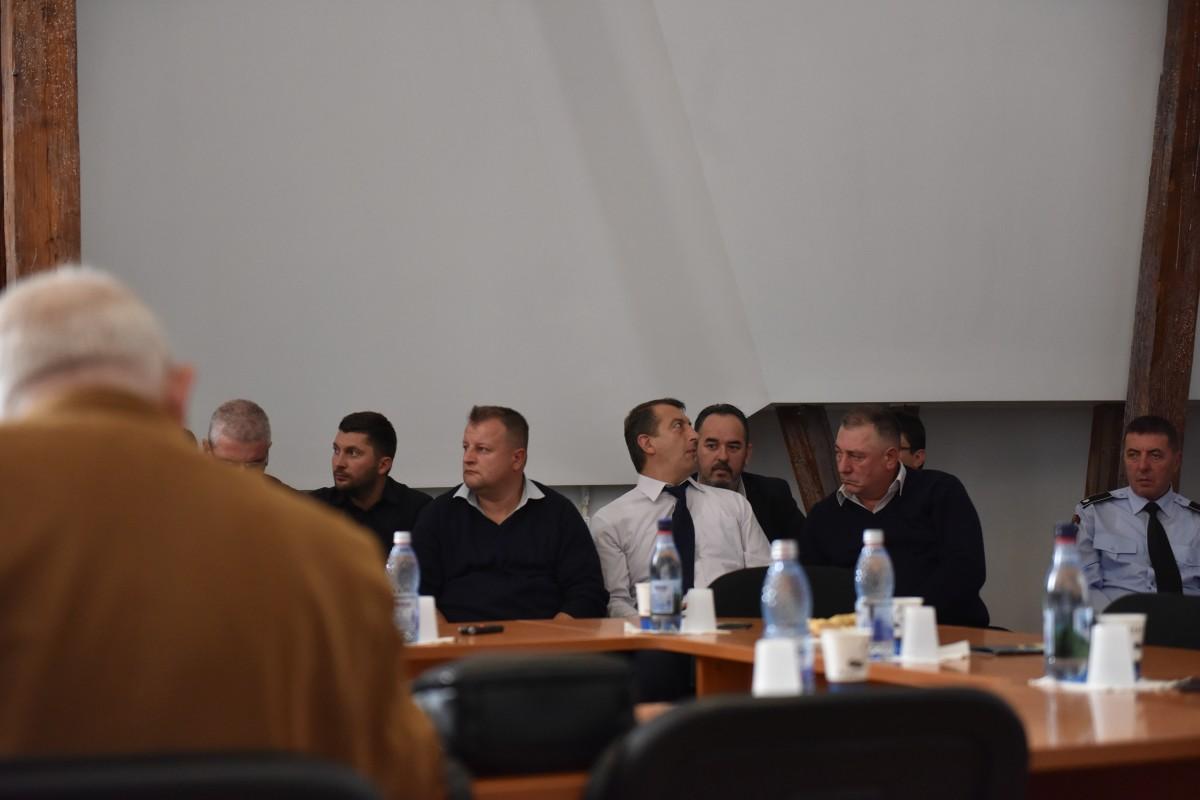 Sindicaliștii, la ședința Consiliul Local Sibiu - 31 octombrie 2018