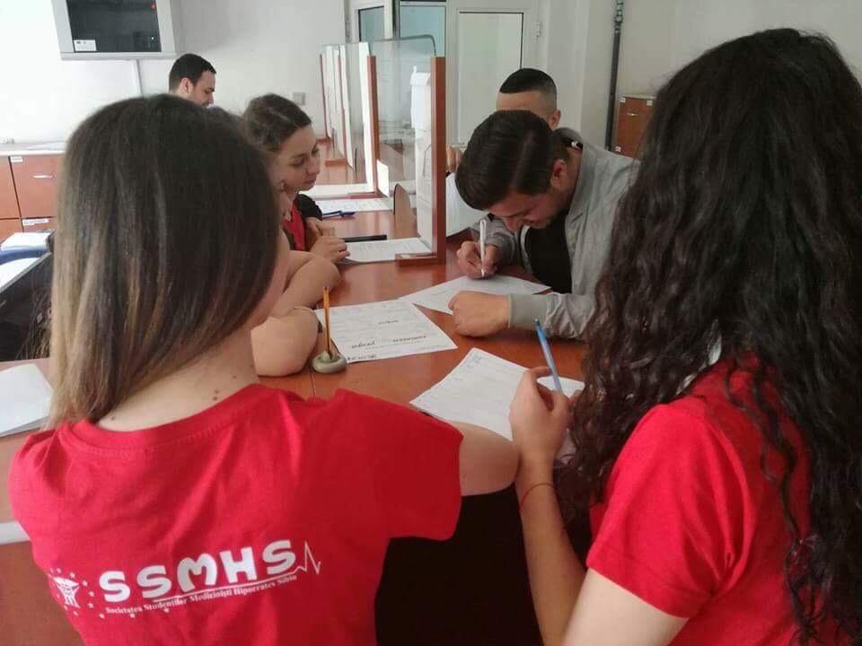 studenti medicina sange