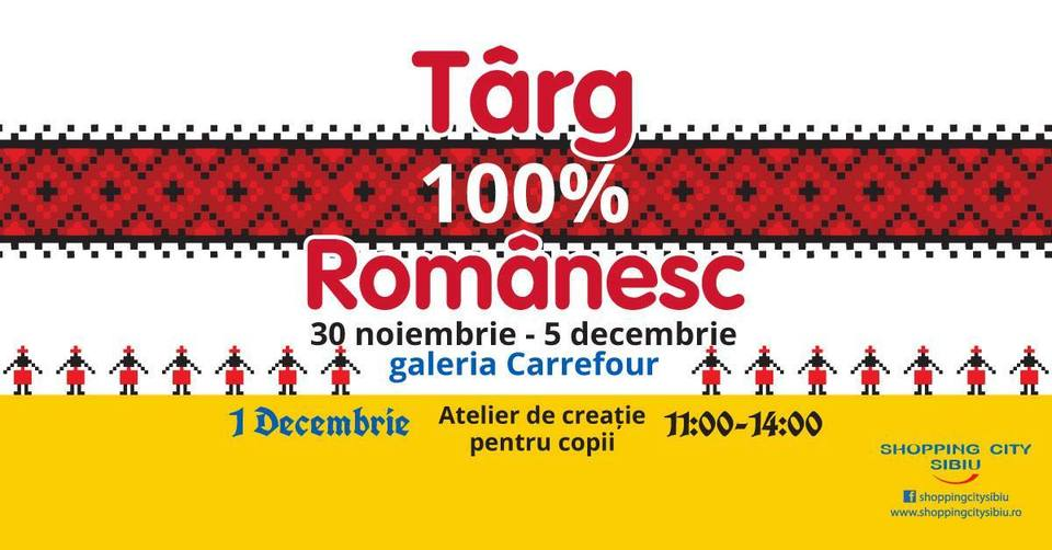 targ romanesc mall