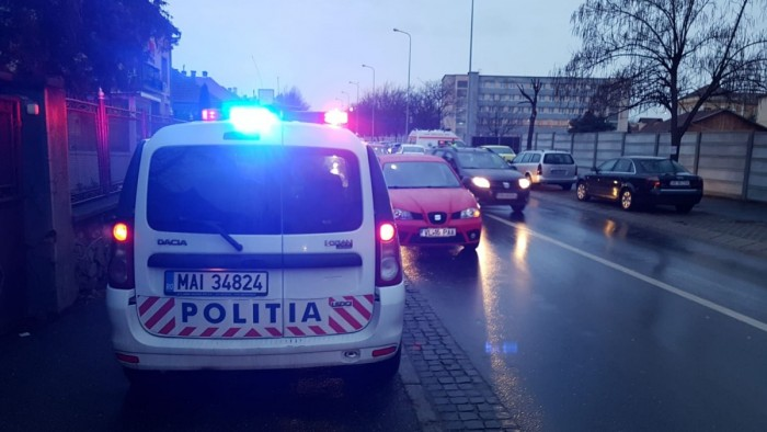 accident masina politie moldoveanu