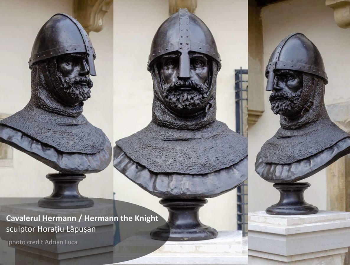 cavalerul hermann bust