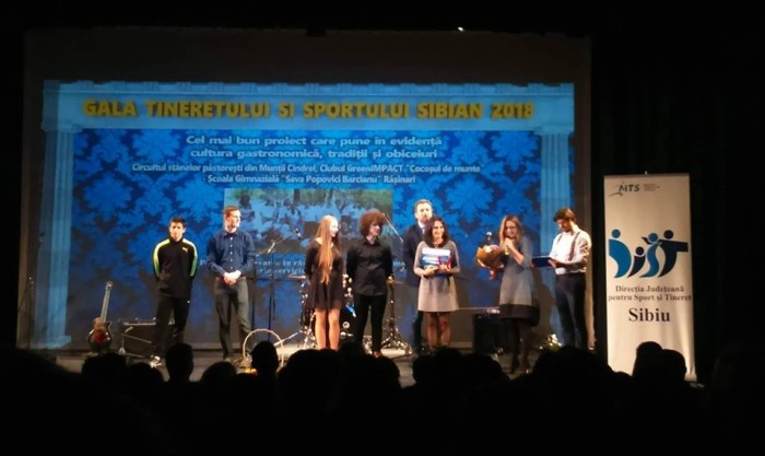 gala tineretului sibian