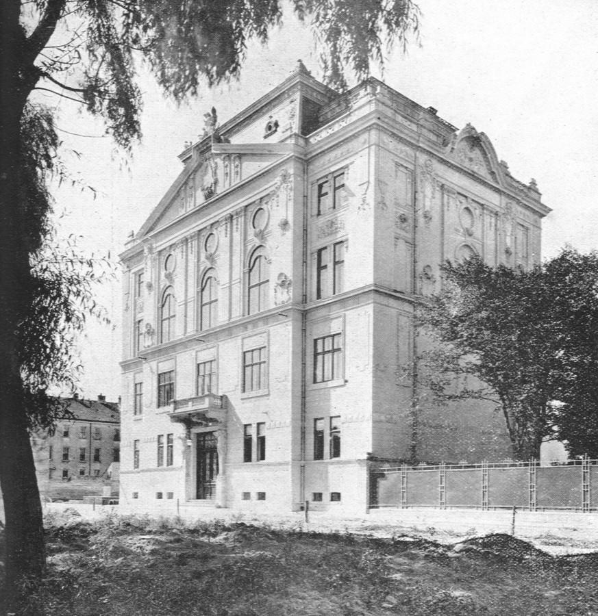 Muzeul Asociațiunii, din actualul parc Astra
