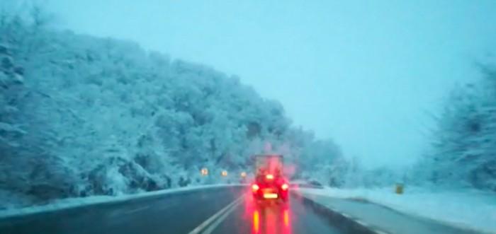 ninsoare drum