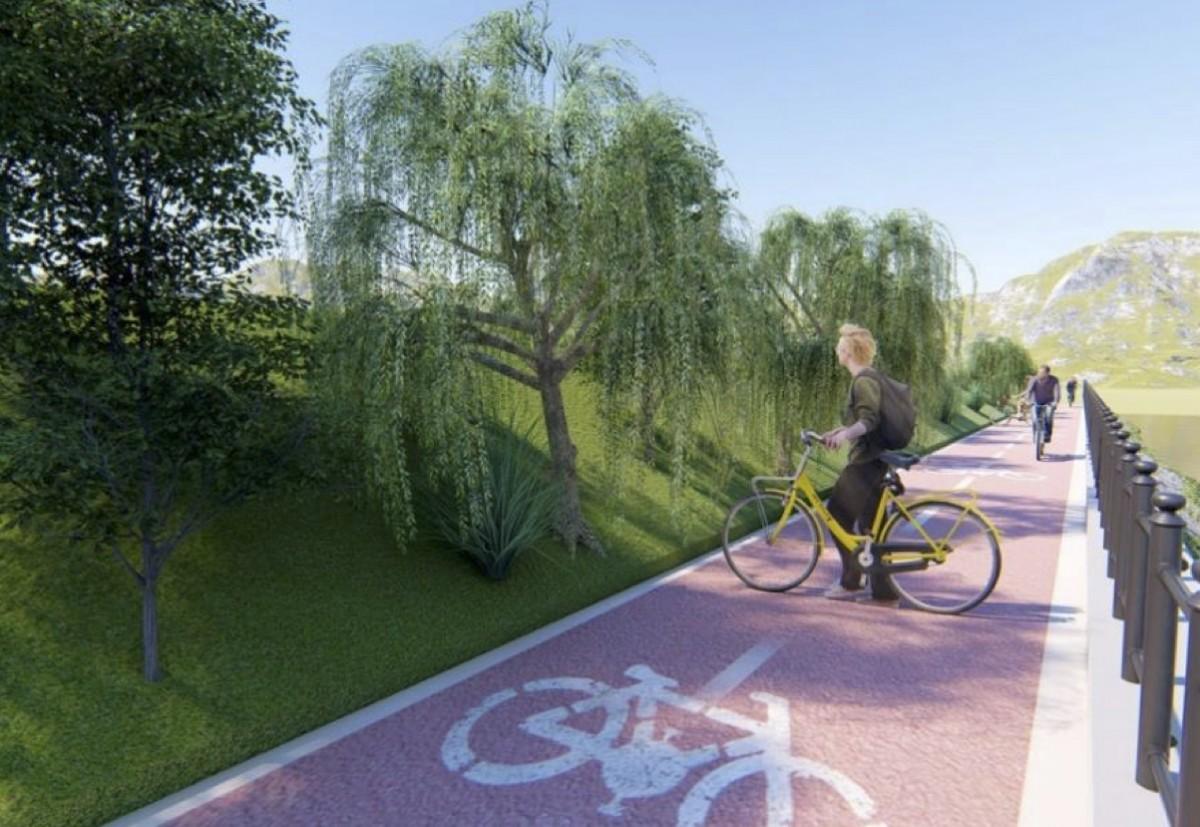 Proiectul pistelor de biciclete pe malurile Cibinului a fost depus spre obținere de fonduri nerambursabile